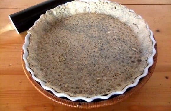 Receta de masa quebrada con semillas de amapola
