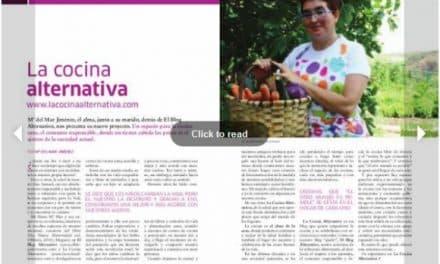 Salimos en la revista online Madre Tierra