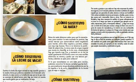 Cómo sustituir los lácteos: leche, nata, mantequilla, quesos y postres