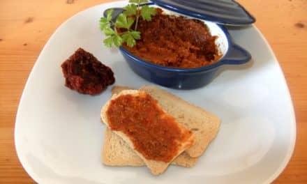 Receta de pesto rojo con tomates secos