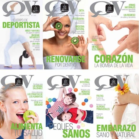 Qualitas Vitae: revistas en pdf de salud y alimentación de Soria Natural