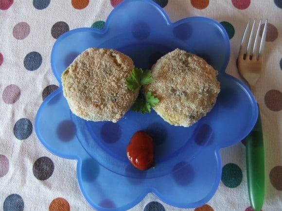 Receta de hamburguesas de patata y verduritas al horno