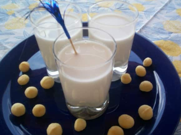 Receta de leche de nueces de macadamia