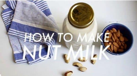 Cómo hacer leches vegetales variadas (vídeos)