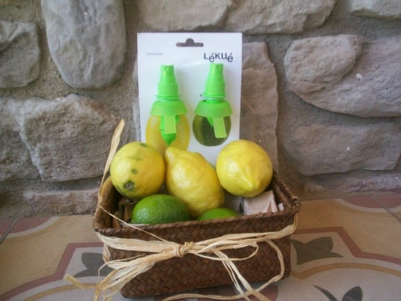 Citrus Spray o cómo pulverizar limón en tus platos