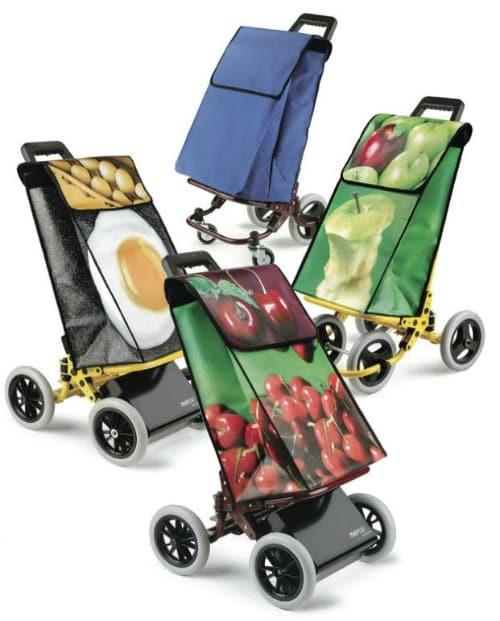 Carritos de la compra: cómodos, ecológicos y a la moda