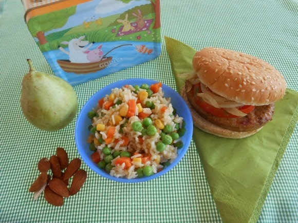 Táper vegetariano para niños 1