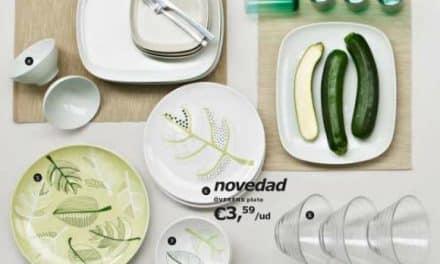 Nuevas vajillas de Ikea: simplicidad y estilo