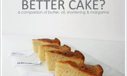 ¿Qué usar en el bizcocho? ¿mantequilla, margarina, aceite?
