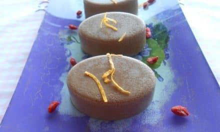 Receta de dulce de algarroba al aroma de naranja