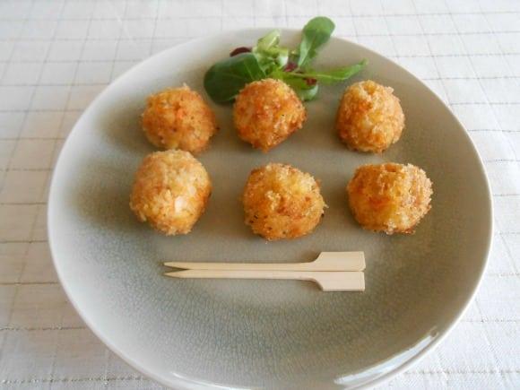 Receta de croquetas de mijo con zanahoria