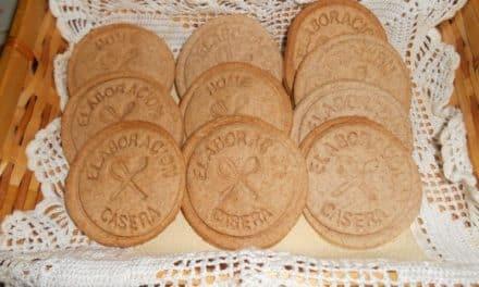 Receta de galletas veganas artesanas
