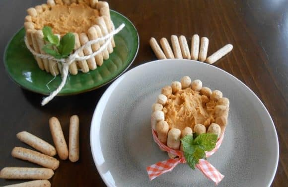 Receta de hummus con boniato asado