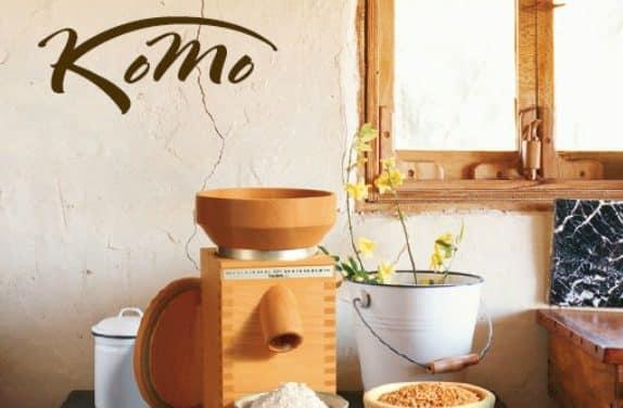 Molinos de cereales Komo: el lujo de moler tu propia harina
