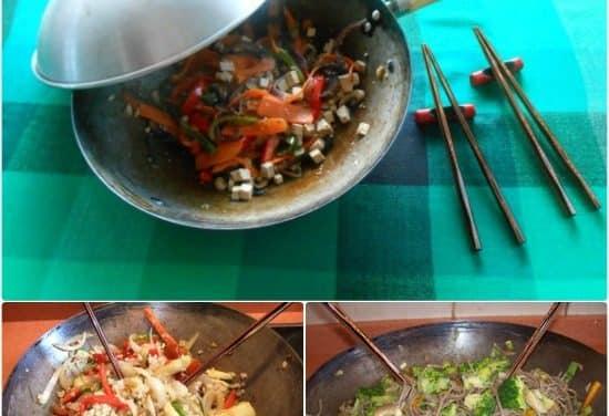 Consejos de uso, compra y limpieza del wok