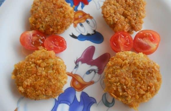 Receta de nuggets vegetarianos al curry
