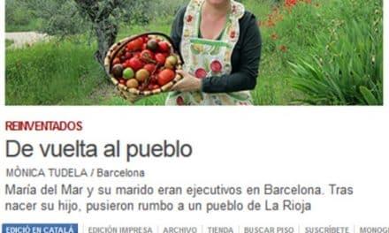 De vuelta al pueblo: salgo en El Periódico de Cataluña en la serie «Reinventarse»
