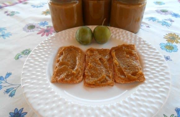 Receta de mermelada de ciruelas y melocotones sin azúcar