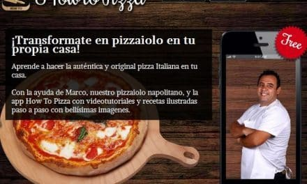 How To Pizza. La app que te enseña a elaborar pizzas