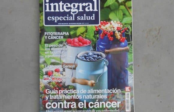 Guía práctica de alimentación y tratamientos naturales contra el cáncer. Revista Integral especial salud