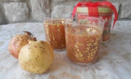 Receta de zumo de granada, manzana y naranja