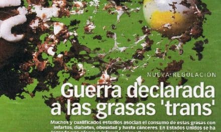 Guerra declarada a las GRASAS TRANS