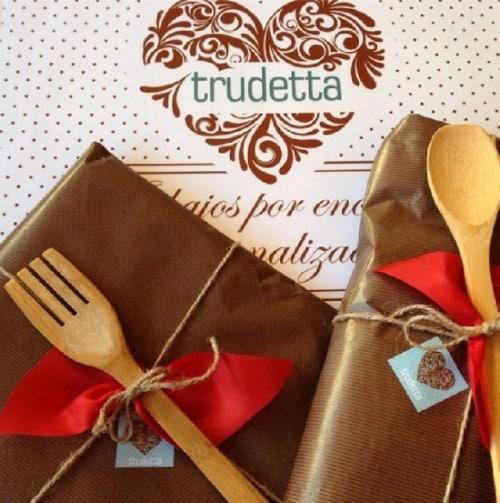 Los delantales artesanos de Trudetta y mucho más. Entrevista