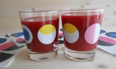 Receta de zumo de remolacha, naranjas y jengibre