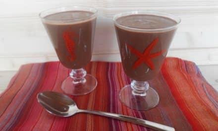 Receta de batido energético de cacao, garbanzos y más