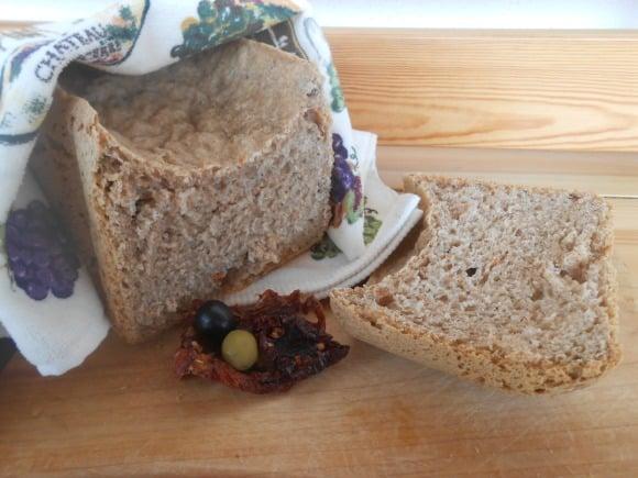 Receta de pan mediterráneo (en panificadora)