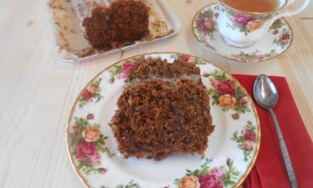 Receta de bizcocho de zanahoria y nueces vegano (carrot cake)