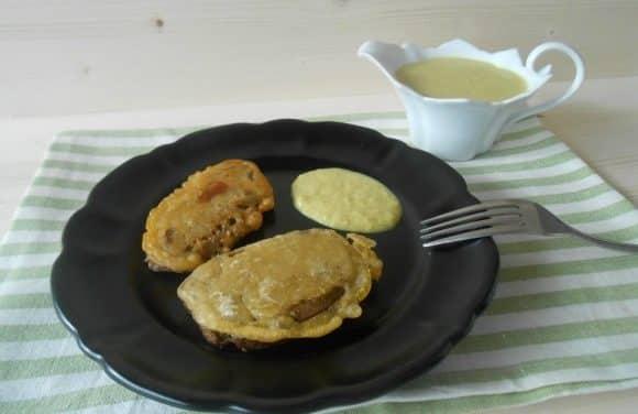 Receta de seitán (de espelta) a la tempura de cerveza