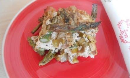 Receta de pastel de trigueros y tofu