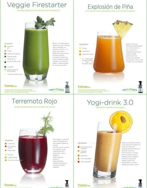 Vivan los cócteles vegetales: pdf gratuito de zumos