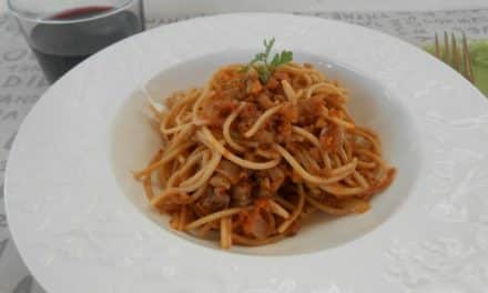 Receta de salsa boloñesa vegetariana
