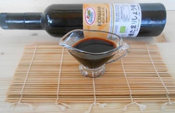 Salsa de soja o Shoyu y TAMARI: diferencias