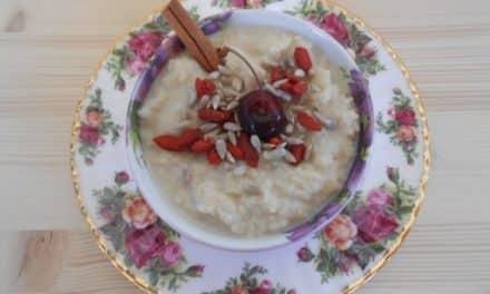 Receta de crema de mijo de desayuno