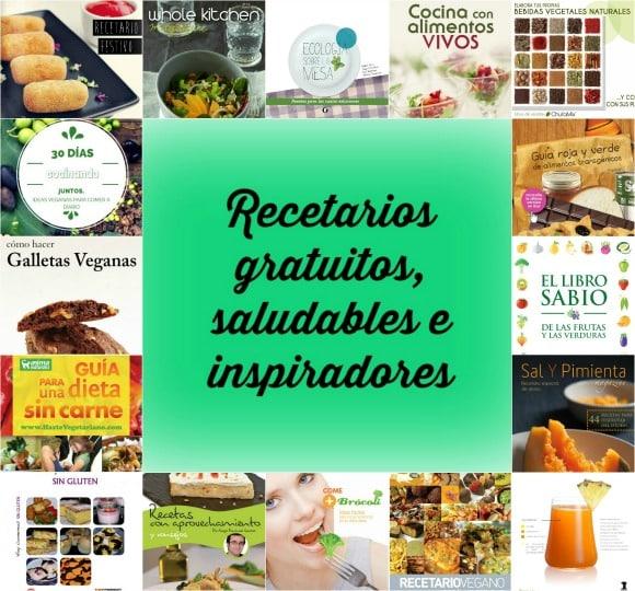 28 recetarios saludables, inspiradores y gratuitos