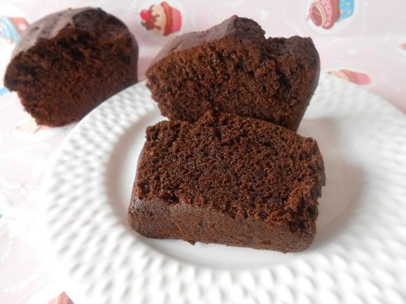 Receta de bizcocho de algarroba sin azúcar (y vegano)