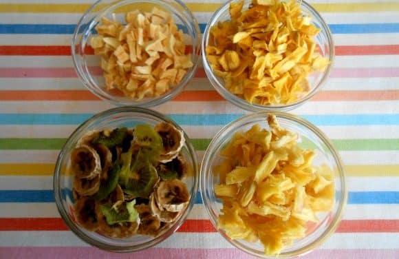 Cómo hacer frutas deshidratadas y chuches naturales