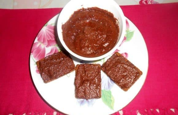 Receta de crema de cacao a la vainilla (vegana y sin azúcar)