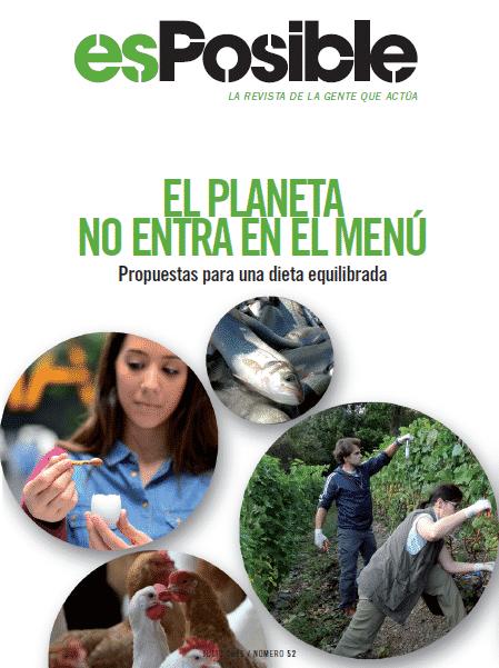 El planeta no entra en el menú: revista online esPosible