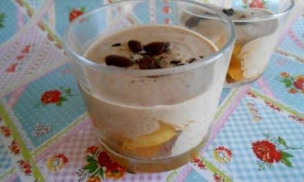 Receta de porridge de trigo sarraceno con fruta