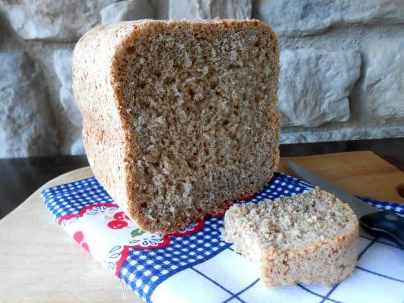 Receta de pan rústico de centeno (en panificadora)