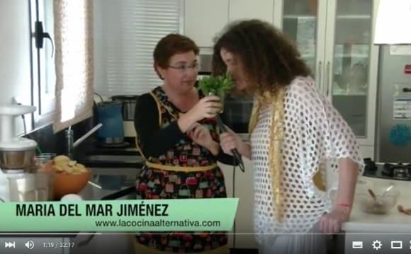 Me entrevista Nuria Aragón Castro sobre zumos y clorofila (vídeo)