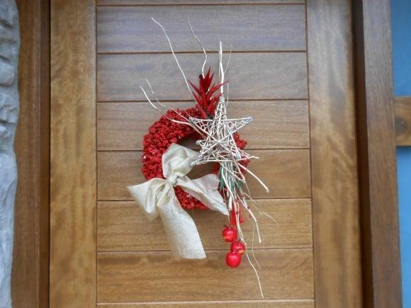 Corona de navidad «culinaria»