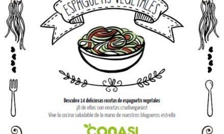 Espaguetis vegetales: recetario gratuito
