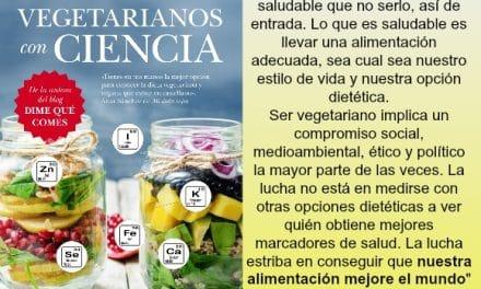 Vegetarianos con ciencia: entrevista a Lucía Martínez Argüelles