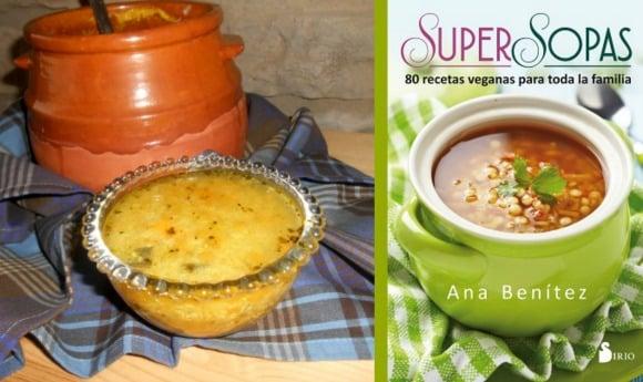 Receta de super sopa de quinoa y calabaza especiada