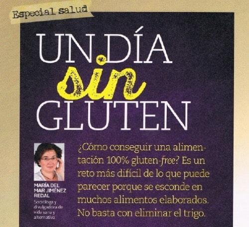 MENOS GLUTEN, más felicidad: mi artículo en la revista «Mente Sana»